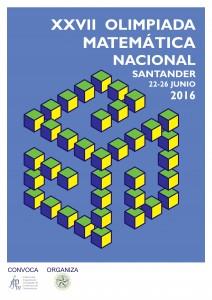 Cartel Olimpiada Matematica - Autor Carlos Lopez Nozal