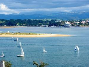 La bahía desde Reina Victoria