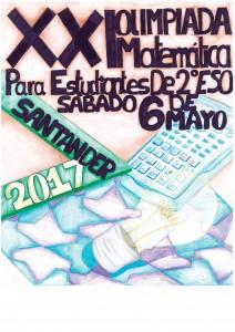 cartel olimpiada matematica 2017